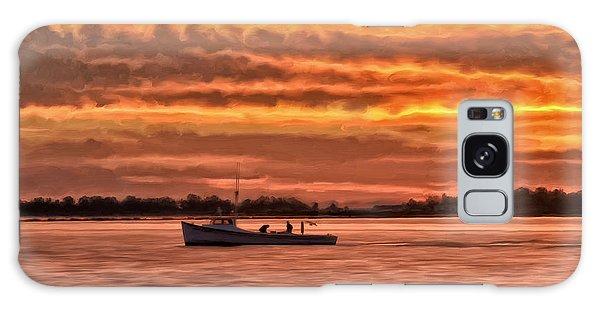 Chesapeake Watermen Galaxy Case by Michael Pickett
