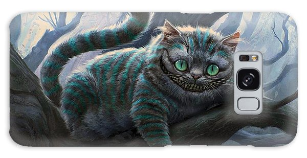 Limb Galaxy Case - Cheshire Cat by Movie Poster Prints