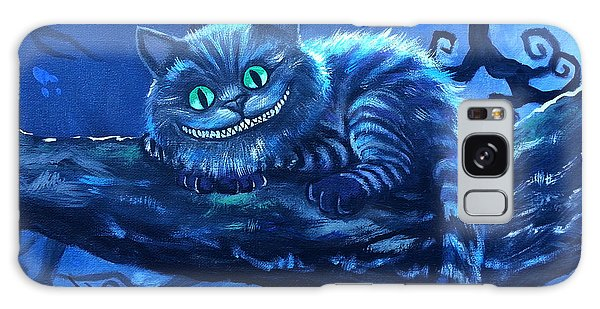 Cheshire Cat Galaxy Case