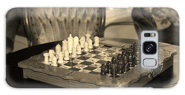 Chess Game Galaxy Case