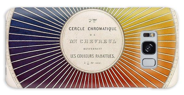 Art Institute Galaxy Case - Chevreuls Chromatic Circle by Getty Research Institute