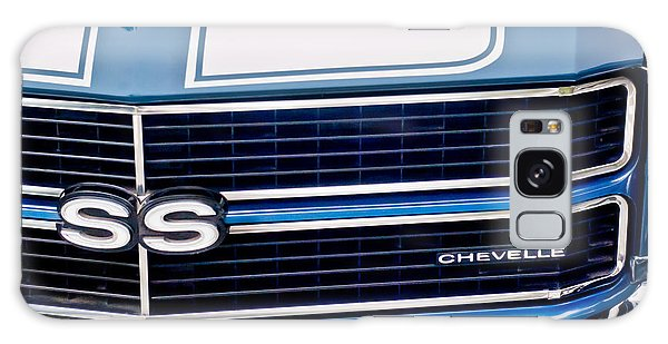 Chevrolet Chevelle Ss Grille Emblem 2 Galaxy Case by Jill Reger