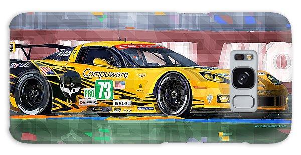 Mixed-media Galaxy Case - Chevrolet Corvette C6r Gte Pro Le Mans 24 2012 by Yuriy Shevchuk