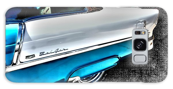 Chevy Bel Air Art 2 Tone Side View Art 1 Galaxy Case