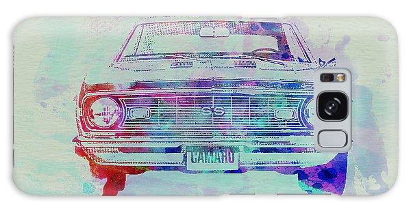 Automobile Galaxy Case - Chevy Camaro Watercolor 2 by Naxart Studio