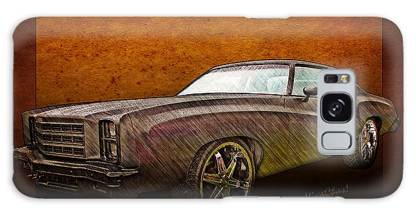 Chevy Monte Carlo Poster Galaxy Case