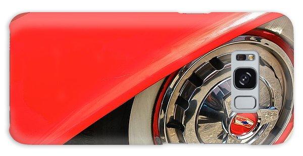 1955 Chevy Rim Galaxy Case by Linda Bianic