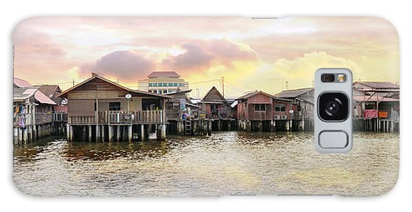 Chew Jetty Heritage Site In Penang Galaxy Case by Jit Lim