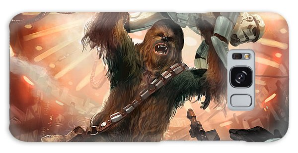 Stars Galaxy Case - Chewbacca - Star Wars The Card Game by Ryan Barger