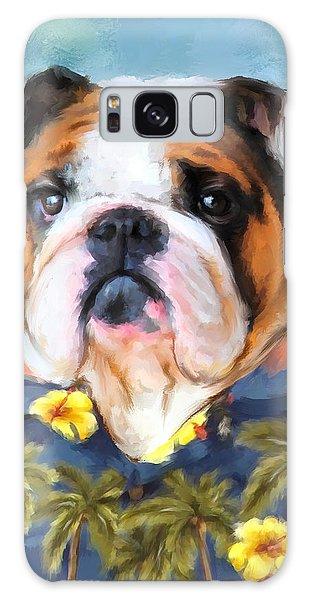 Chic English Bulldog Galaxy Case