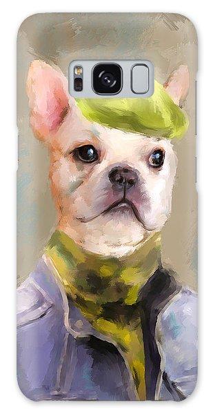 Chic French Bulldog Galaxy Case