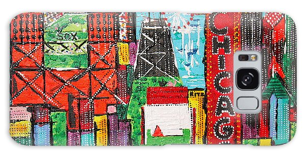 Chicago - City Of Fun - Sold Galaxy Case