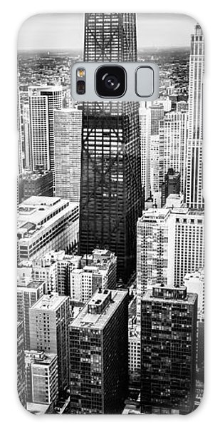 Chicago Aerial Vertical Panoramic Picture Galaxy Case
