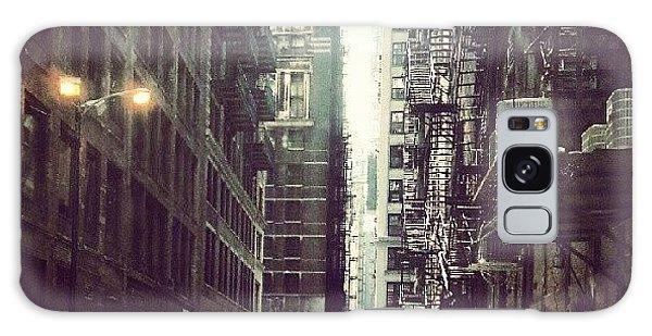 City Galaxy Case - Chicago Alleyway by Jill Tuinier