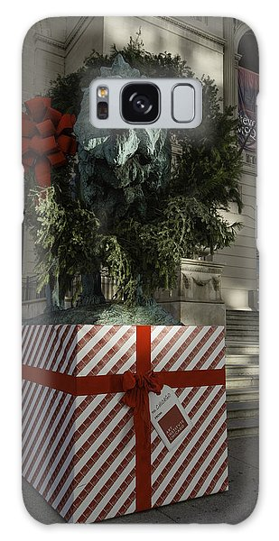 Art Institute Galaxy Case - Chicago Art Institute Lion by Sebastian Musial