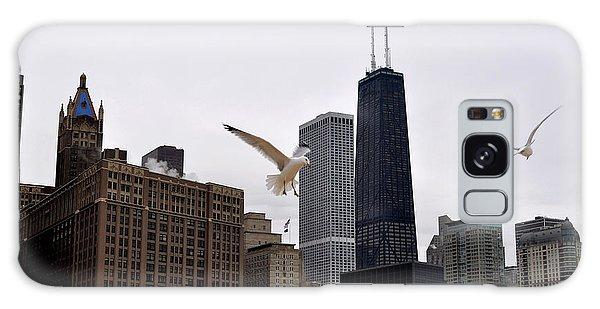 Chicago Birds 2 Galaxy Case by Verana Stark