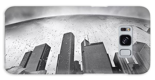 Chicago Art Galaxy Case - Chicago Black And White Photography by Dapixara Art