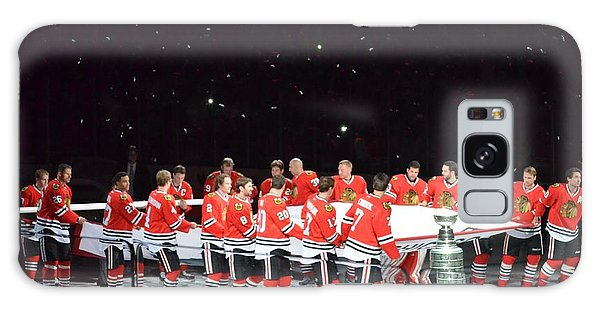 Chicago Blackhawks And The Banner Galaxy Case