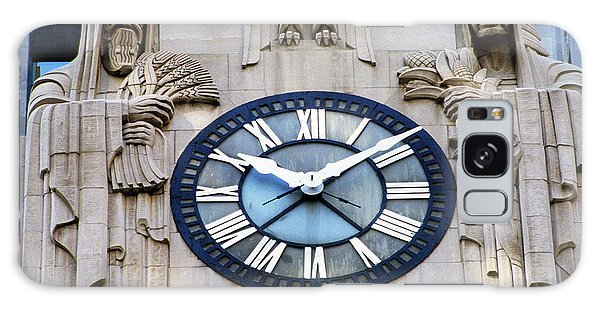 Chicago Art Galaxy Case - Chicago Board Of Trade Building Clock by Panoramic Images