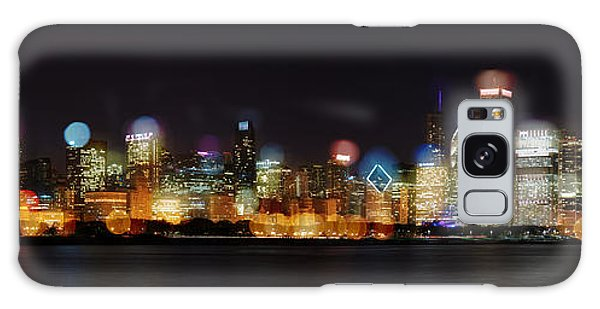 Chicago Bokeh Galaxy Case