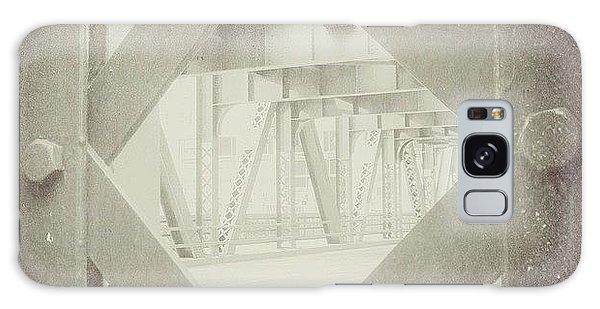 Architecture Galaxy Case - Chicago Bridge Ironwork Vintage Photo by Paul Velgos
