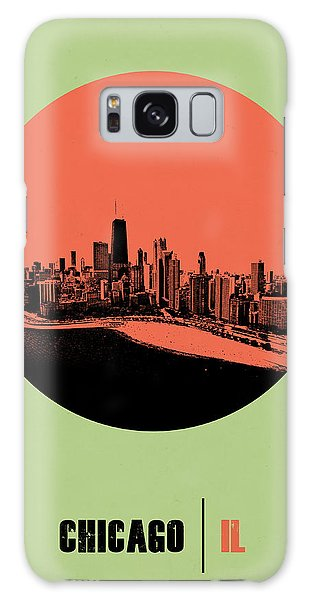 Downtown Galaxy Case - Chicago Circle Poster 1 by Naxart Studio