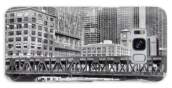 Architecture Galaxy Case - Wells Street Bridge Chicago Hdr Photo by Paul Velgos