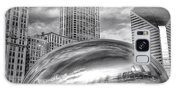Chicago Bean Cloud Gate Hdr Picture Galaxy Case