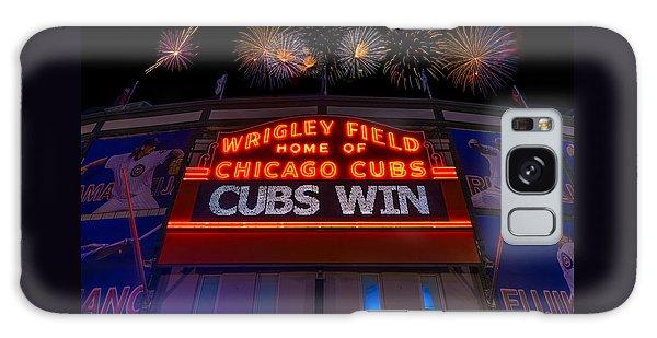 Fireworks Galaxy Case - Chicago Cubs Win Fireworks Night by Steve Gadomski
