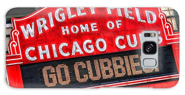 Chicago Cubs Wrigley Field Galaxy Case by Christopher Arndt