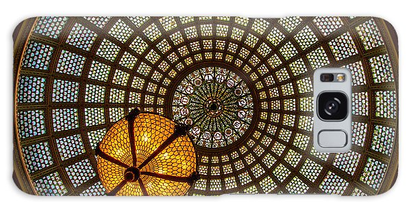 Cultural Center Galaxy Case - Chicago Cultural Center Dome by Mike Burgquist