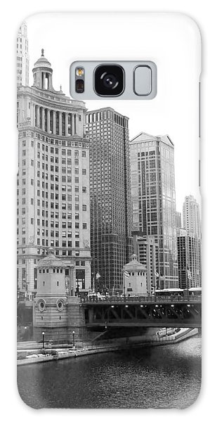 Chicago Downtown 2 Galaxy Case
