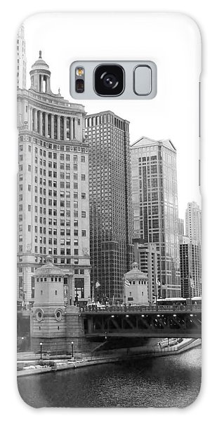 Chicago Downtown 2 Galaxy Case by Bruce Bley