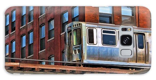 Chicago El And Warehouse Galaxy Case