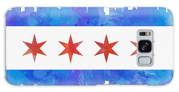 Chicago Flag Watercolor Galaxy S8 Case