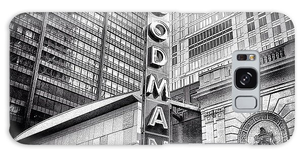 Chicago Goodman Theatre Sign Photo Galaxy Case