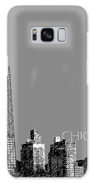 Chicago Hancock Building - Pewter Galaxy Case by DB Artist