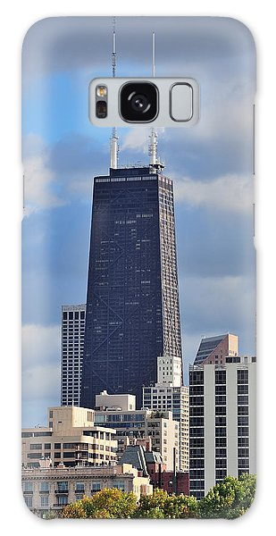 Chicago Hancock Building Galaxy Case