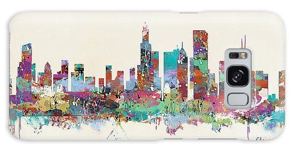 Chicago Illinois Skyline Galaxy Case