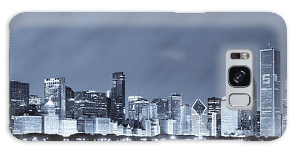 Chicago In Blue Galaxy Case
