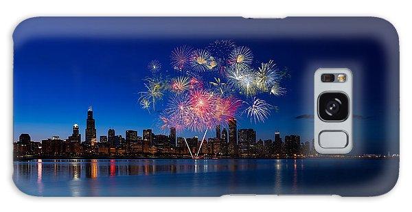 Fireworks Galaxy Case - Chicago Lakefront Fireworks by Steve Gadomski