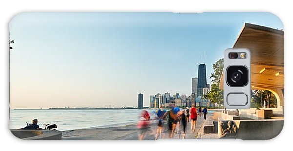 Chicago Lakefront Panorama Galaxy Case