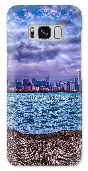 Chicago Lost In The Clouds Galaxy Case