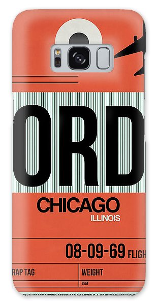 Grant Park Galaxy Case - Chicago Luggage Poster 2 by Naxart Studio