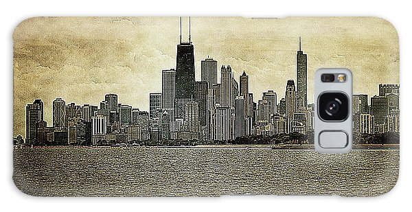 Chicago On Canvas Galaxy Case