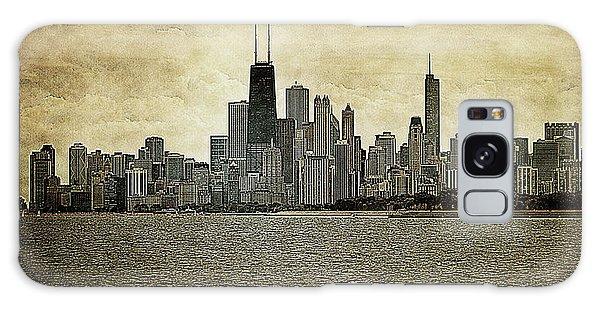 Chicago On Canvas Galaxy Case