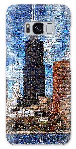 Chicago Photo Mosaic Galaxy Case by Wernher Krutein