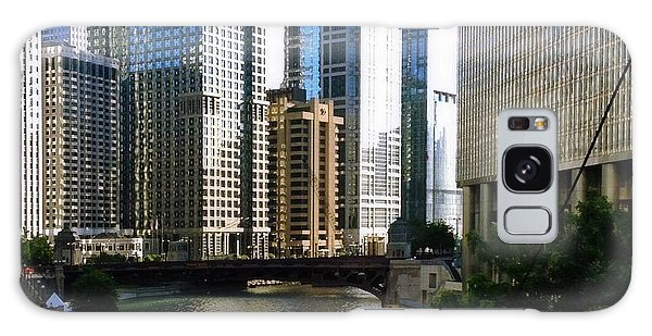 Chicago River Galaxy Case