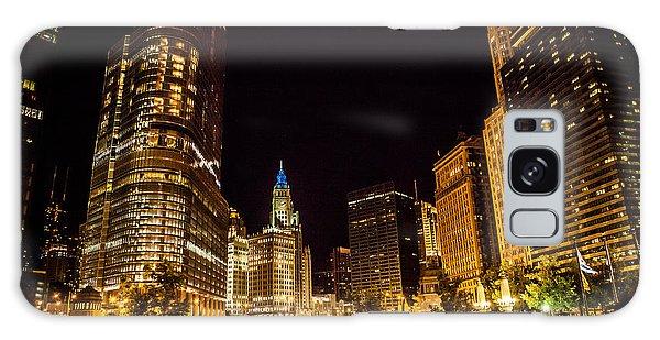 Chicago Riverwalk Galaxy Case