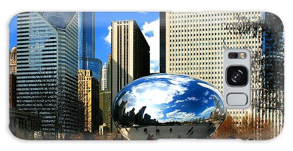 Chicago Skyline Bean Galaxy Case